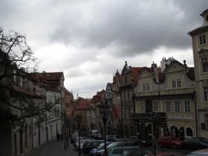 La rue Nerudova