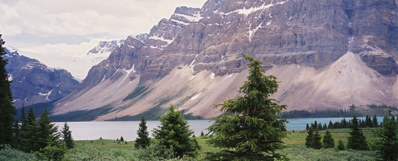 Crowfoot Mountains & Glacier