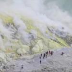 Mont Kawah Ijen: soufre