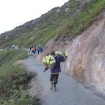 Mont Ijen: porteur de soufre