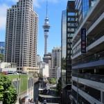 Auckland et sa Sky Tower