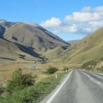 Route vers la Mont Cook