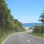Route vers Punakaiki