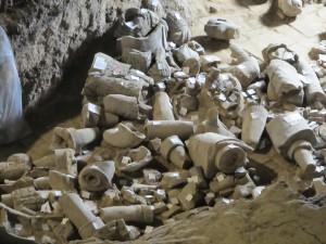 L'armée de soldats enterrés: fosse 2