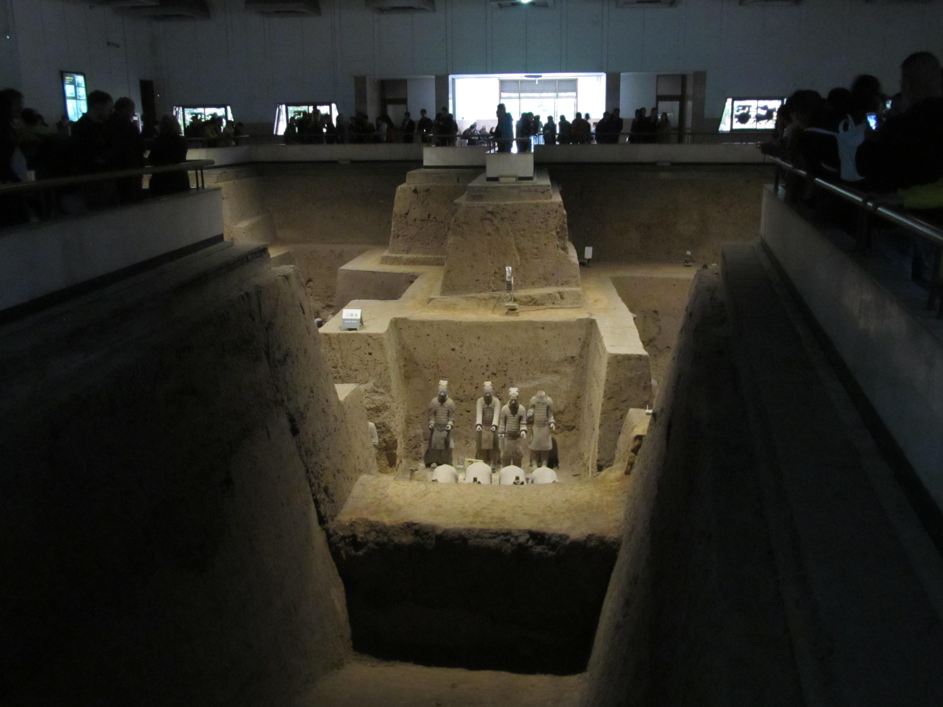 L'armée de soldats enterrés: fosse 3