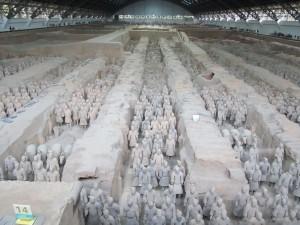 L'armée de soldats enterrés: fosse 1