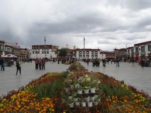 Lhassa: Barkhor Square