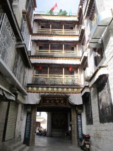 Notre hôtel à Lhassa