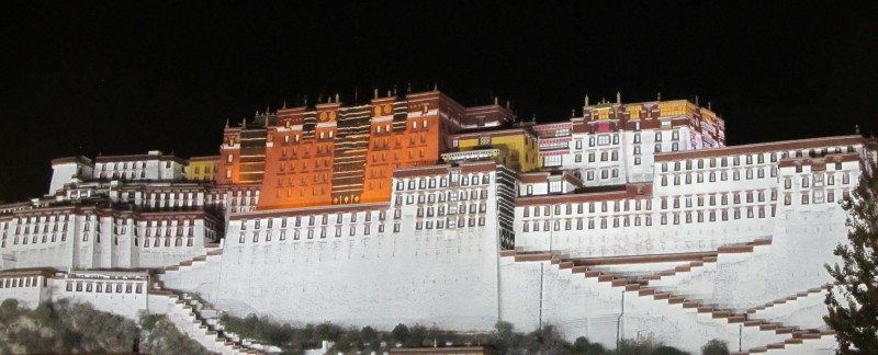 Potala Palace by night