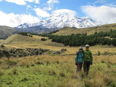 Équateur: Riobamba et le volcan Chimborazo