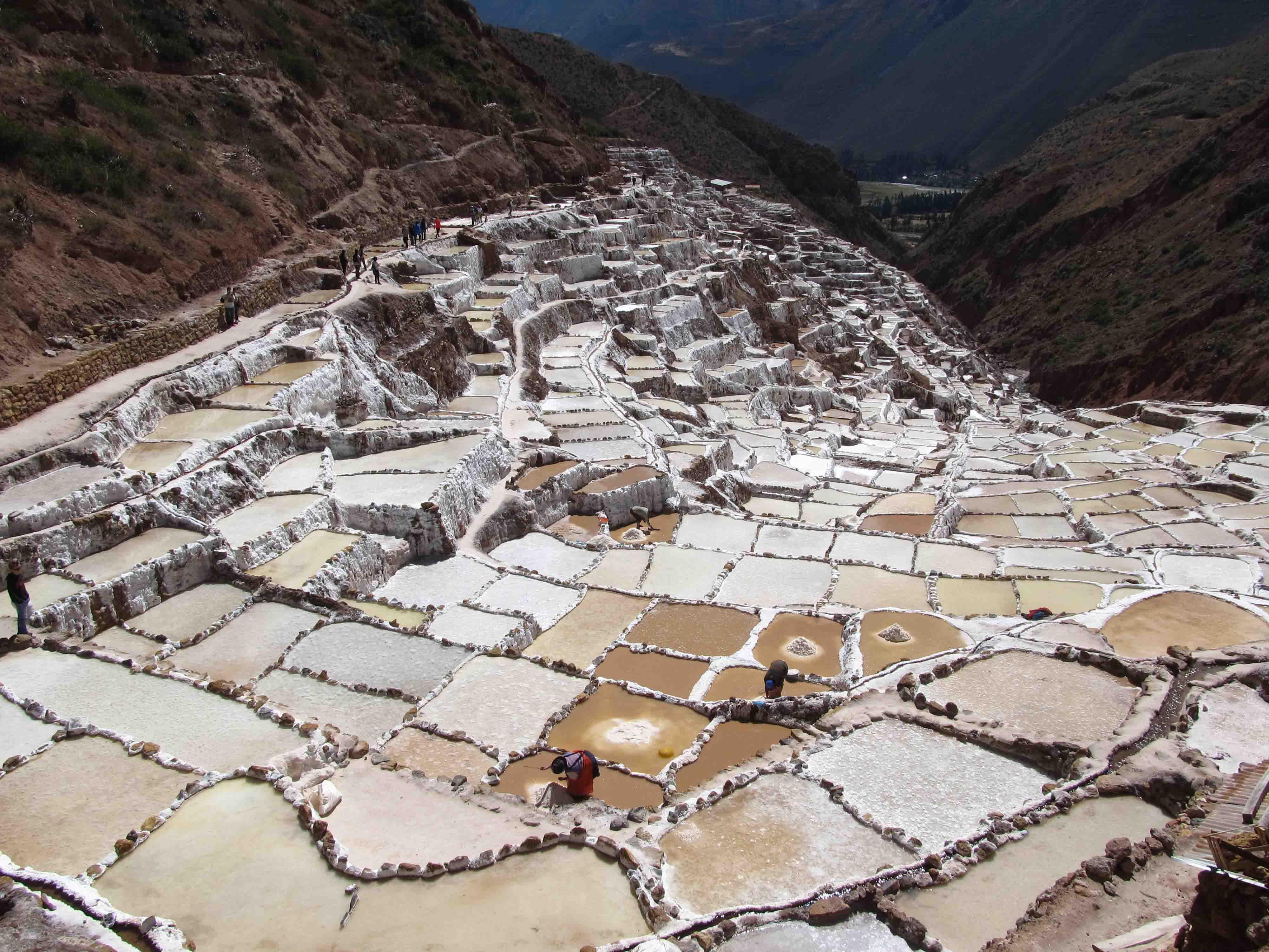 Pérou: l'ouest de la Vallée Sacrée