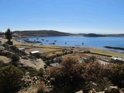 Bolivie: le Lac Titicaca (Isla del Sol)