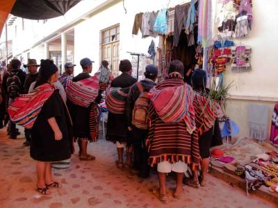 Bolivie: Sucre et Tarabuco